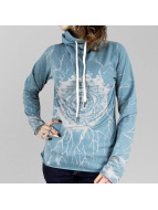 Yakuza Longsleeve Roots Shawl blue
