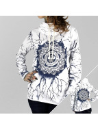 Yakuza Longsleeve Roots Shawl white