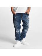 Yakuza Loose Fit Jeans Skeleton blue