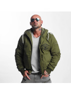 Yakuza Manteau hiver Knockout Military olive
