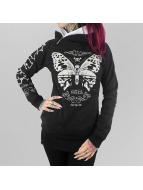 Moth Hoody Black...