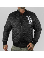 Yakuza  Skeleton Quilted Jacket Black