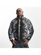 Yakuza Thorns Quilted Jacket Black/White