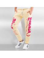 Yakuza Pantalón deportivo Sweatpants amarillo