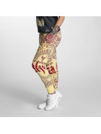 Yakuza Pantalón deportivo Believe amarillo