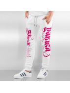 Yakuza Pantalón deportivo Fly Or Die blanco
