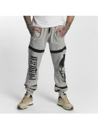 Yakuza Skull Sweatpants Light Grey Melange
