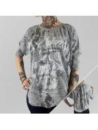 Yakuza Pitkähihaiset paidat L.A. Skull harmaa