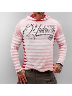 Yakuza Pitkähihaiset paidat Stripes punainen