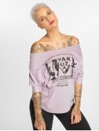 Yakuza Pitkähihaiset paidat Out Of Control purpuranpunainen