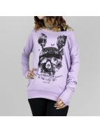Yakuza Pitkähihaiset paidat Dead Bunny Wide Crew purpuranpunainen