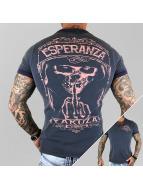 Yakuza poloshirt Esperanza blauw