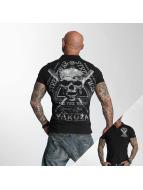 Yakuza Poloshirt Streetwear schwarz