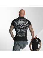 Yakuza poloshirt Streetwear zwart
