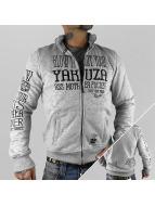 Yakuza Prechodné vetrovky Blow It Out šedá