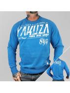 Yakuza Pullover Gentleman Club blau
