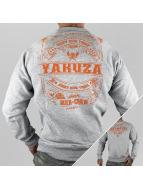 Yakuza Pullover Mex-Crew grau