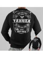 Yakuza Pullover Mex-Crew noir