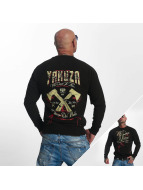 Yakuza Pullover We Come In Peace noir