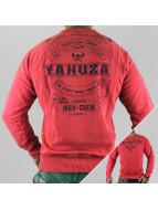 Yakuza Pullover Mex-Crew rouge