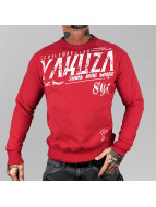 Yakuza Pullover Gentleman Club rouge