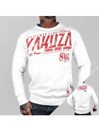 Yakuza Pullover Gentleman Club white