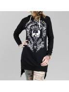 Yakuza Robe Skull Hooded noir