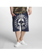 Yakuza shorts Skull Label blauw
