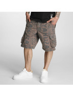Yakuza Shorts Allover gris