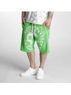 Yakuza Shorts Skull Label grün