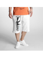 Yakuza Armed Society Sweat Shorts White