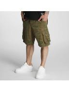 Yakuza Shorts Allover marrone