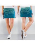 Yakuza Skirt Moth blue