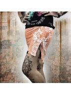 Yakuza Skirt Floral orange