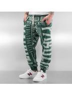 Yakuza Spodnie do joggingu Gentleman Club zielony