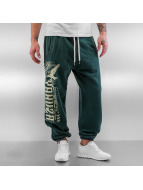 Yakuza Spodnie do joggingu Commandments zielony