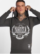 Yakuza Killed By Fame Hoody Dark Grey Melange