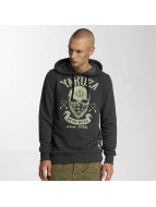 Yakuza Dead Head Hoody Dark Grey Melange