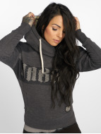 Yakuza Daily Use Mesh Hoody Dark Grey Melange