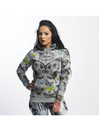 Yakuza Butterfly Flex Hoody Light Grey Melange