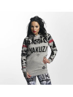 Yakuza Sick N Fuck Flex Long Hoody Grey Melange