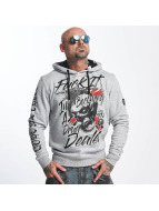 Yakuza Drug Dealer Hoody Light Grey Melange