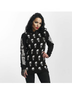 Yakuza Allover Skull Flex Long Hoody Black
