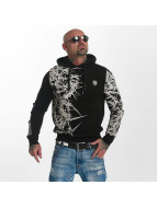 Yakuza Pointed Hoody Black