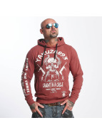 Yakuza Caught In A Circle Hoody Marsala