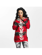 Yakuza Reel Flex Long Hoody Ribbon Red