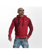 Yakuza Pointed Hoody Ribbon Red