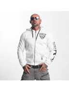 Yakuza Armed Society Zip Hoody White