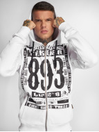 Yakuza Too Short Zip Hoody White