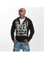Yakuza Too Short  Zip Hoody Black